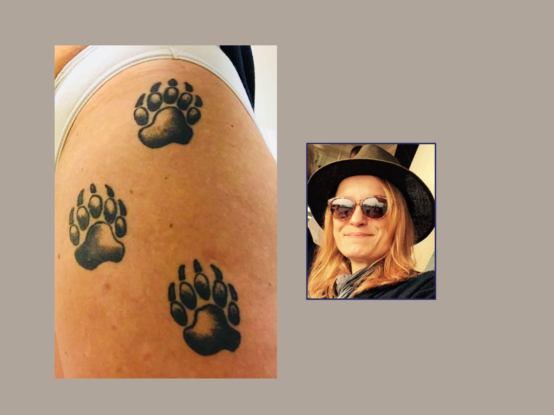 Bärentatzen Tattoo