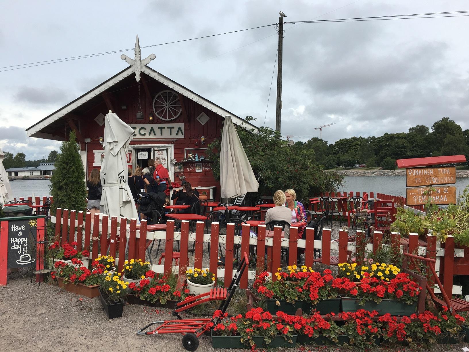 Das Café Regatta in Helsinki - eines der beliebtesten Cafés in Helsinki