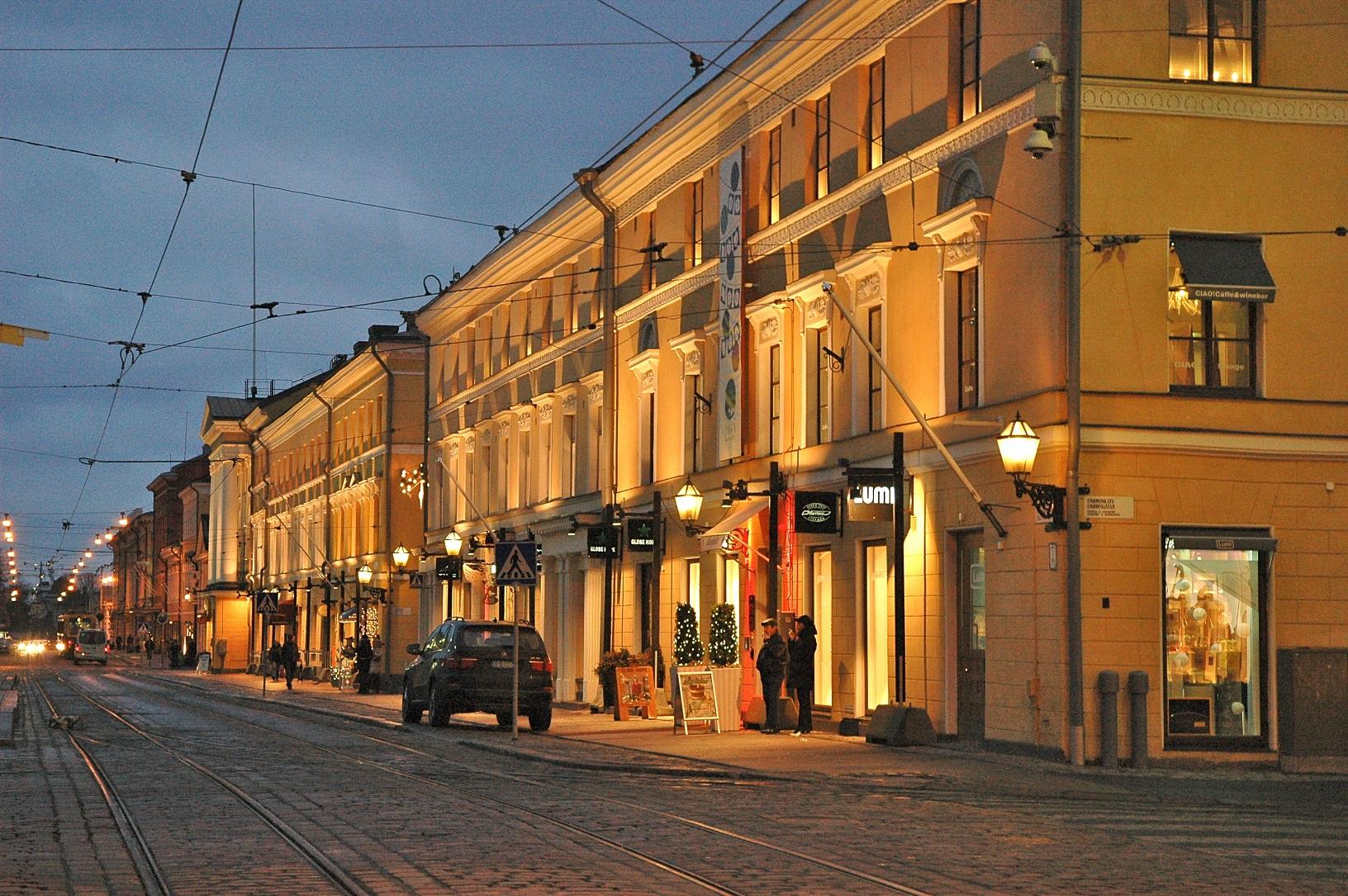 Das Café Engel am Senatsplatz Helsinki