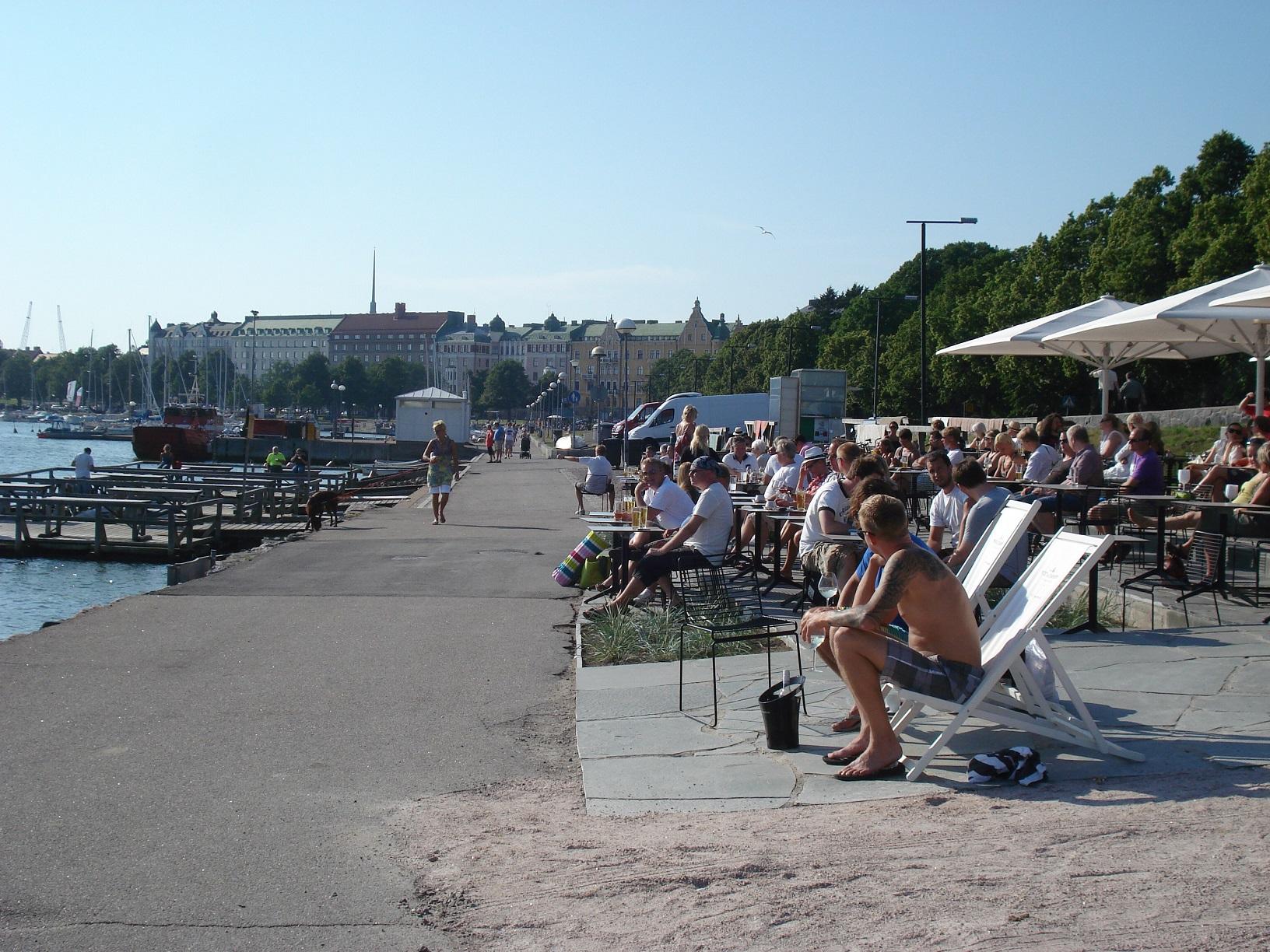 Cafe Mattolaituri in Helsinki