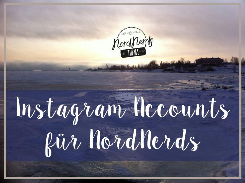 Instagram Accounts für NordNerds