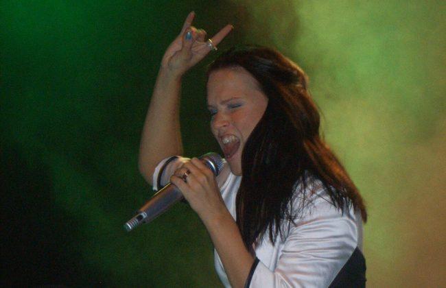 Finnische Bands - Tarja Turunen live