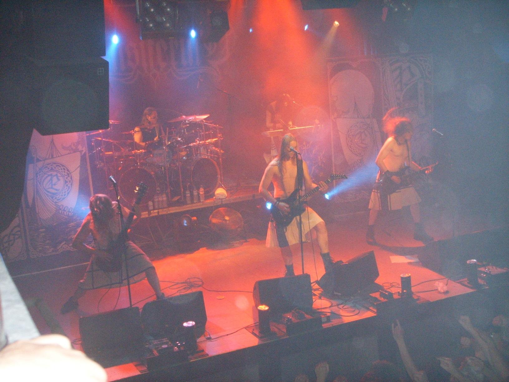 Ensiferum live im Nosturi Helsinki