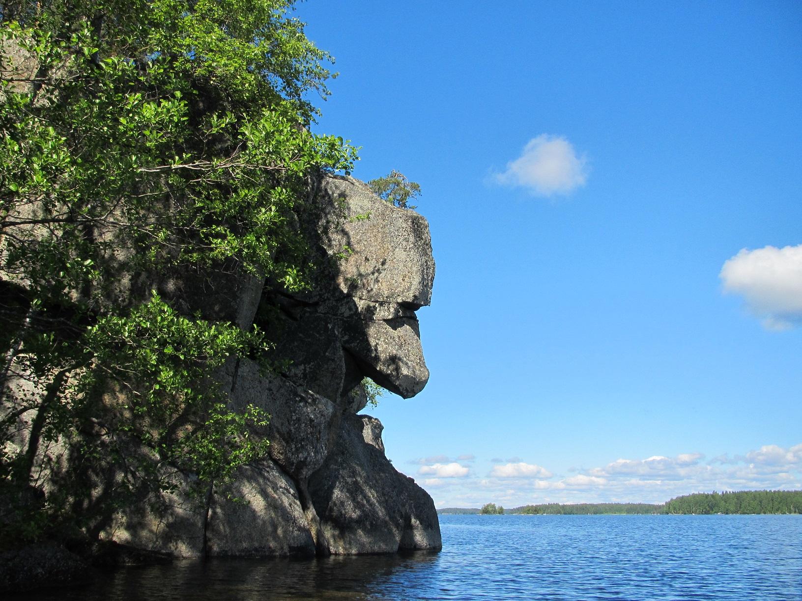 Die Natur macht Finnland glücklich