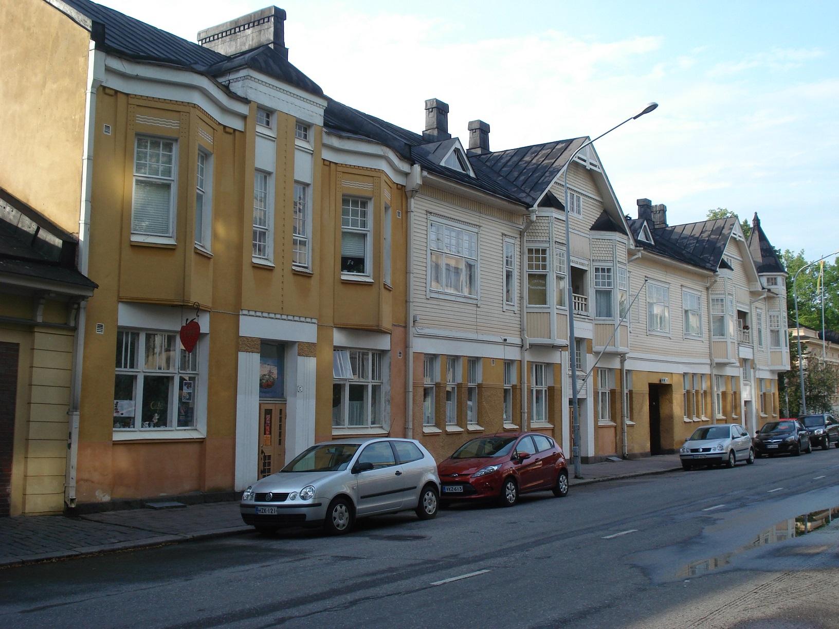 Spaziergang durch Turku