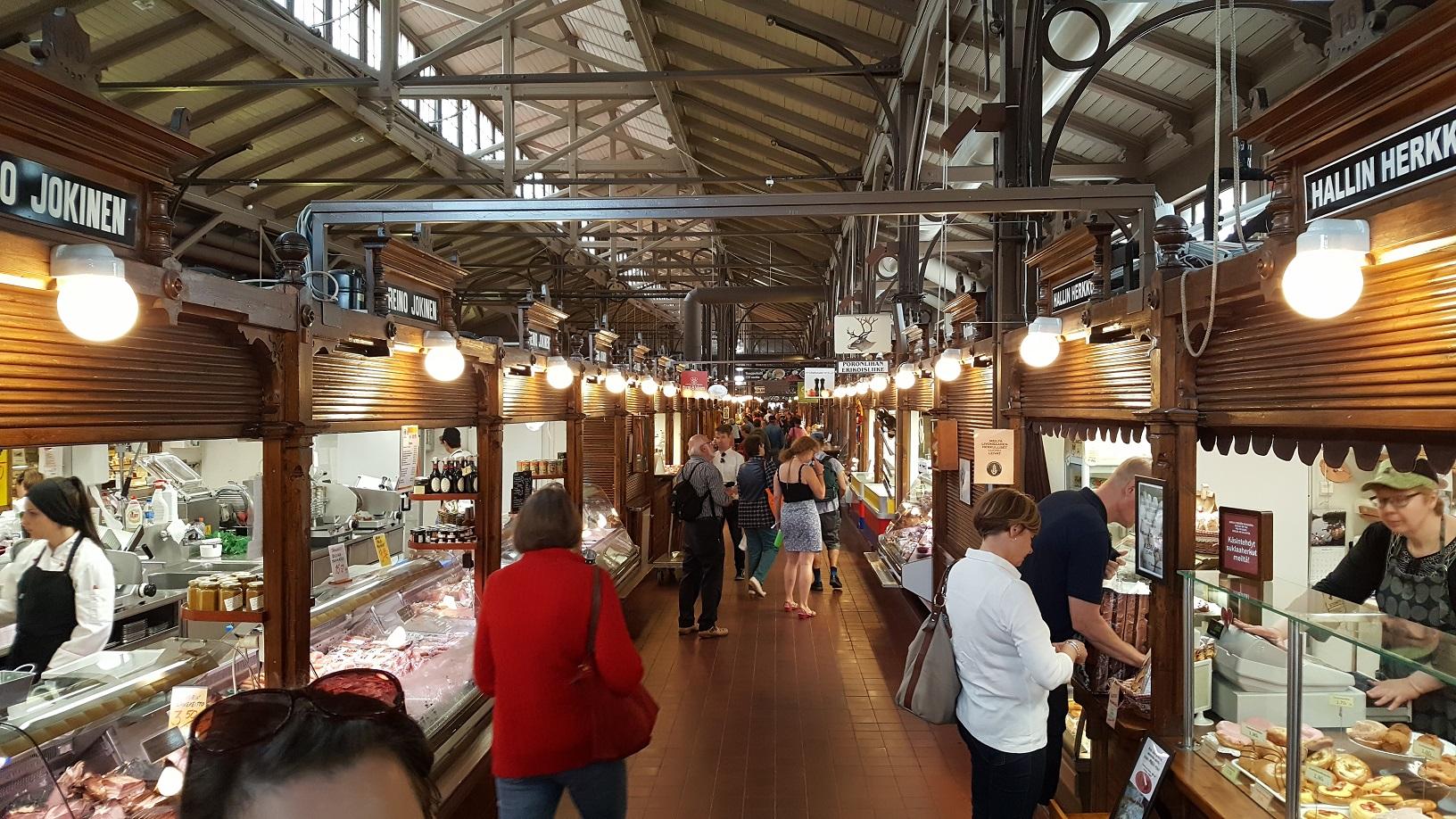 Die Markthalle von Turku