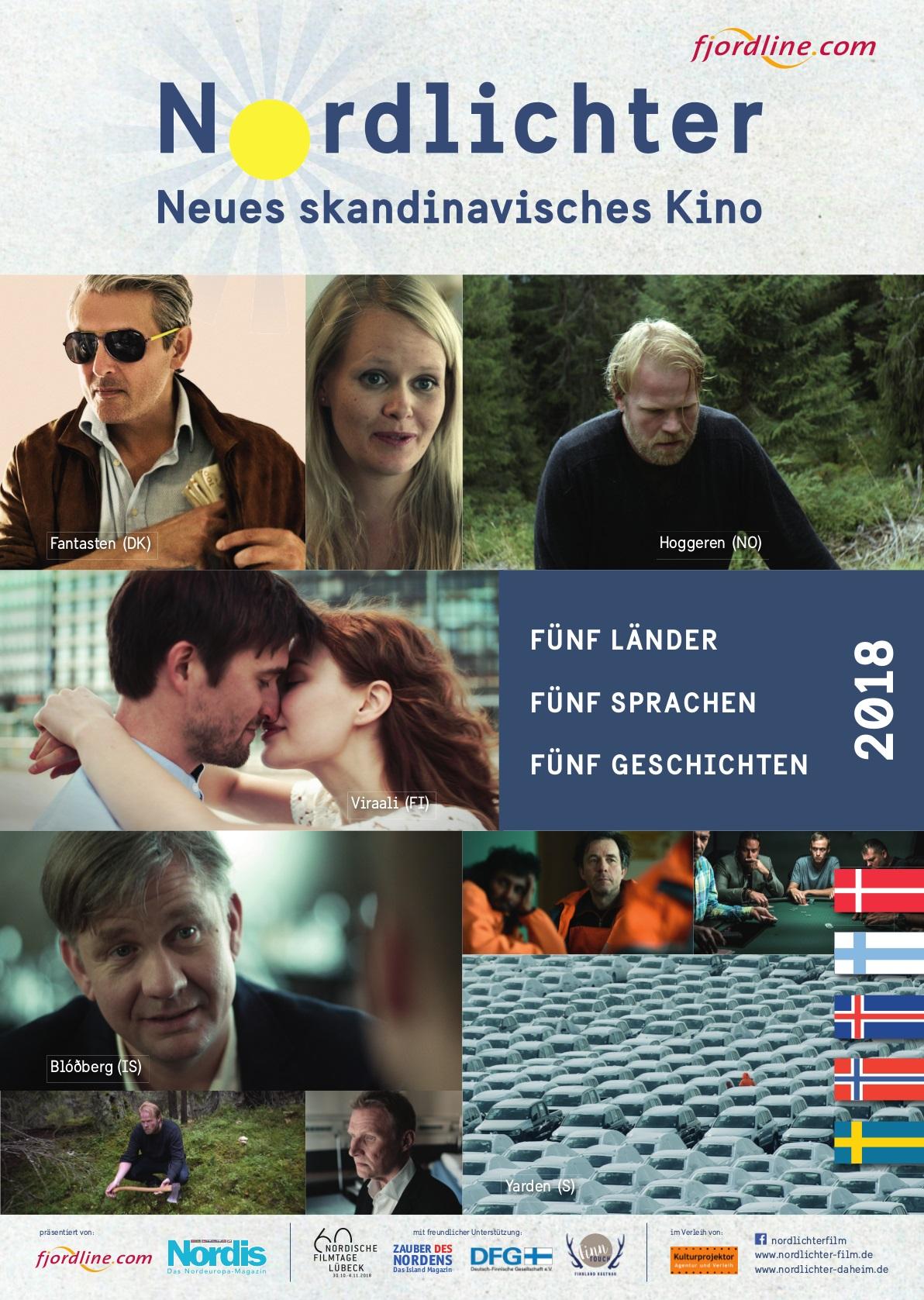 offizielles Plakat Nordlichter Filmfestival 2018