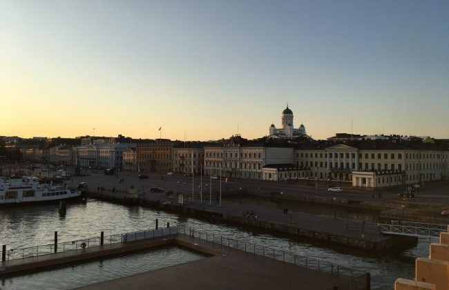 Allas Sea Pool - eine der neuen Saunen in Helsinki