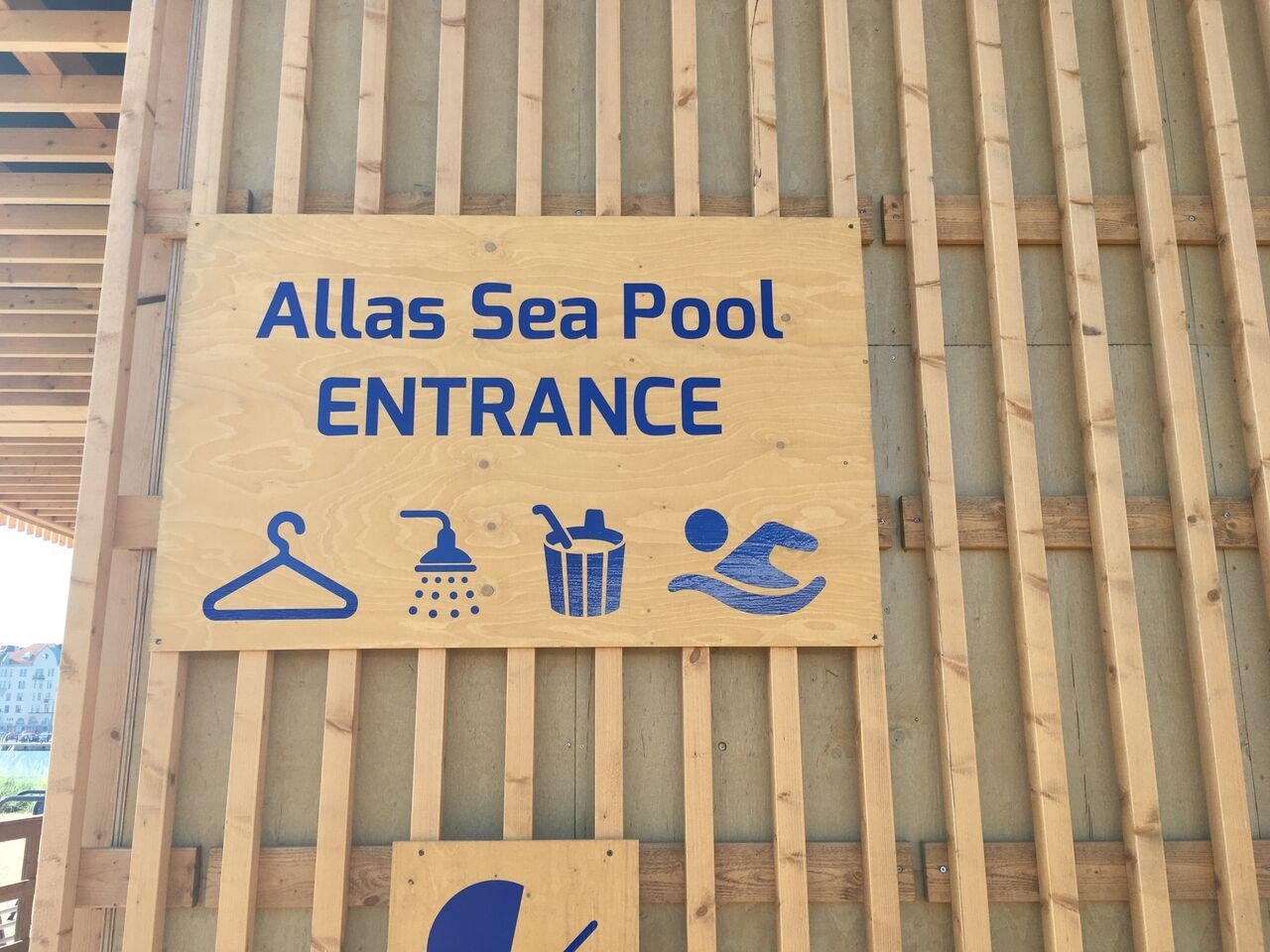 Allas Sea Pool Eingang