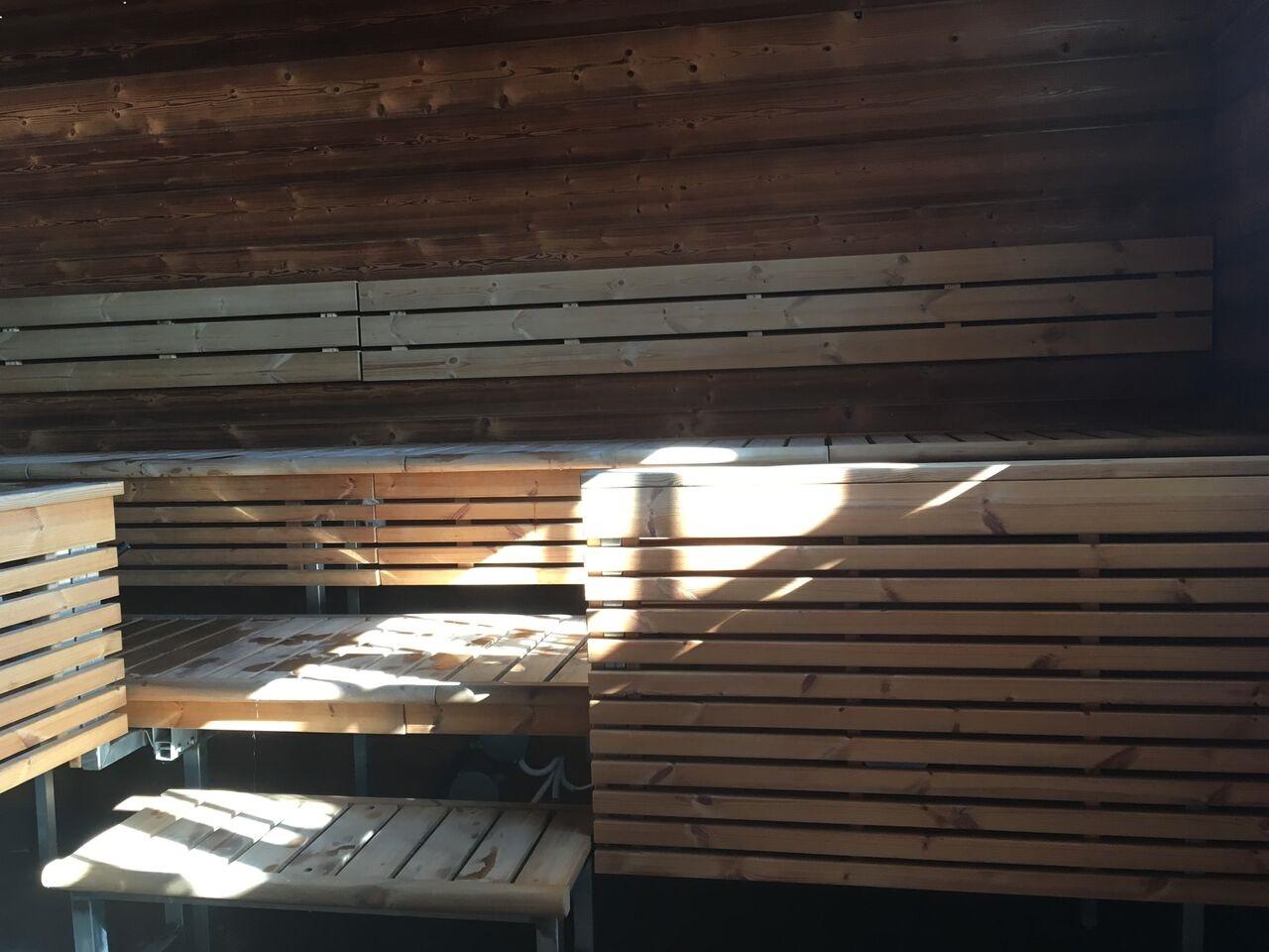 Sauna des Allas Sea Pool