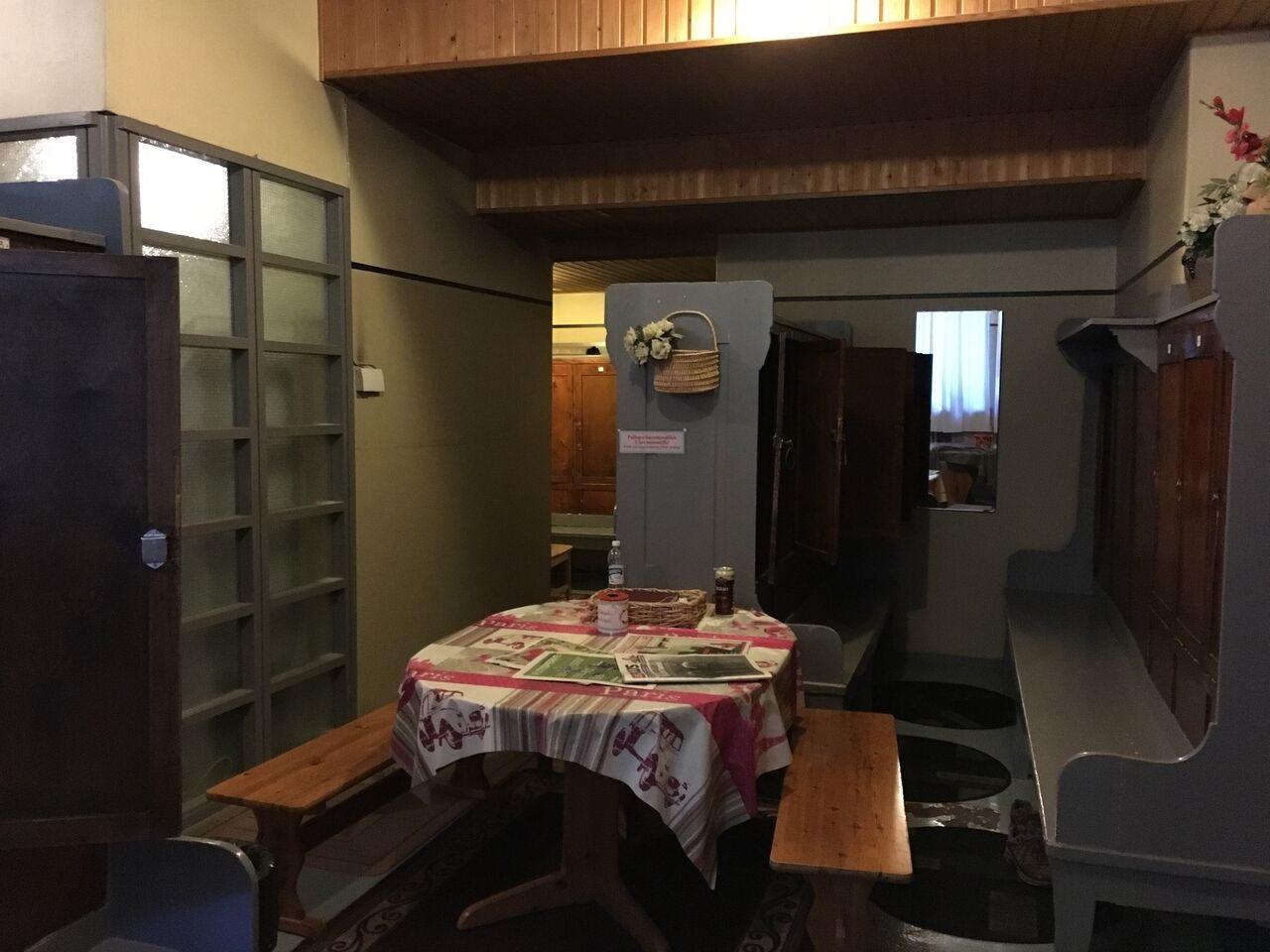 Umkleide der Kotiharjun Sauna