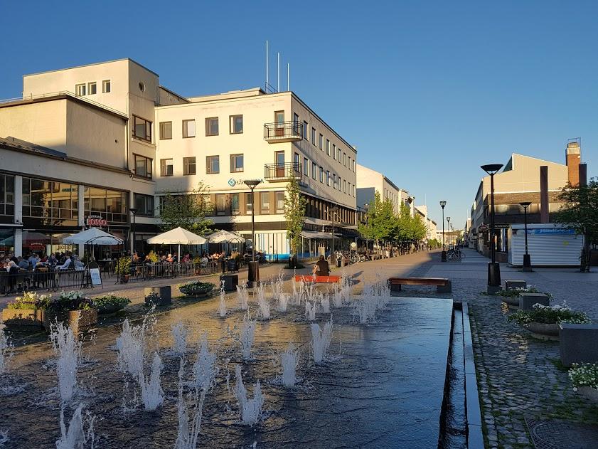 Fußgängerzone von Kajaani