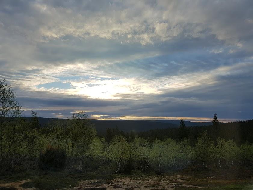 Himmel über Lappland