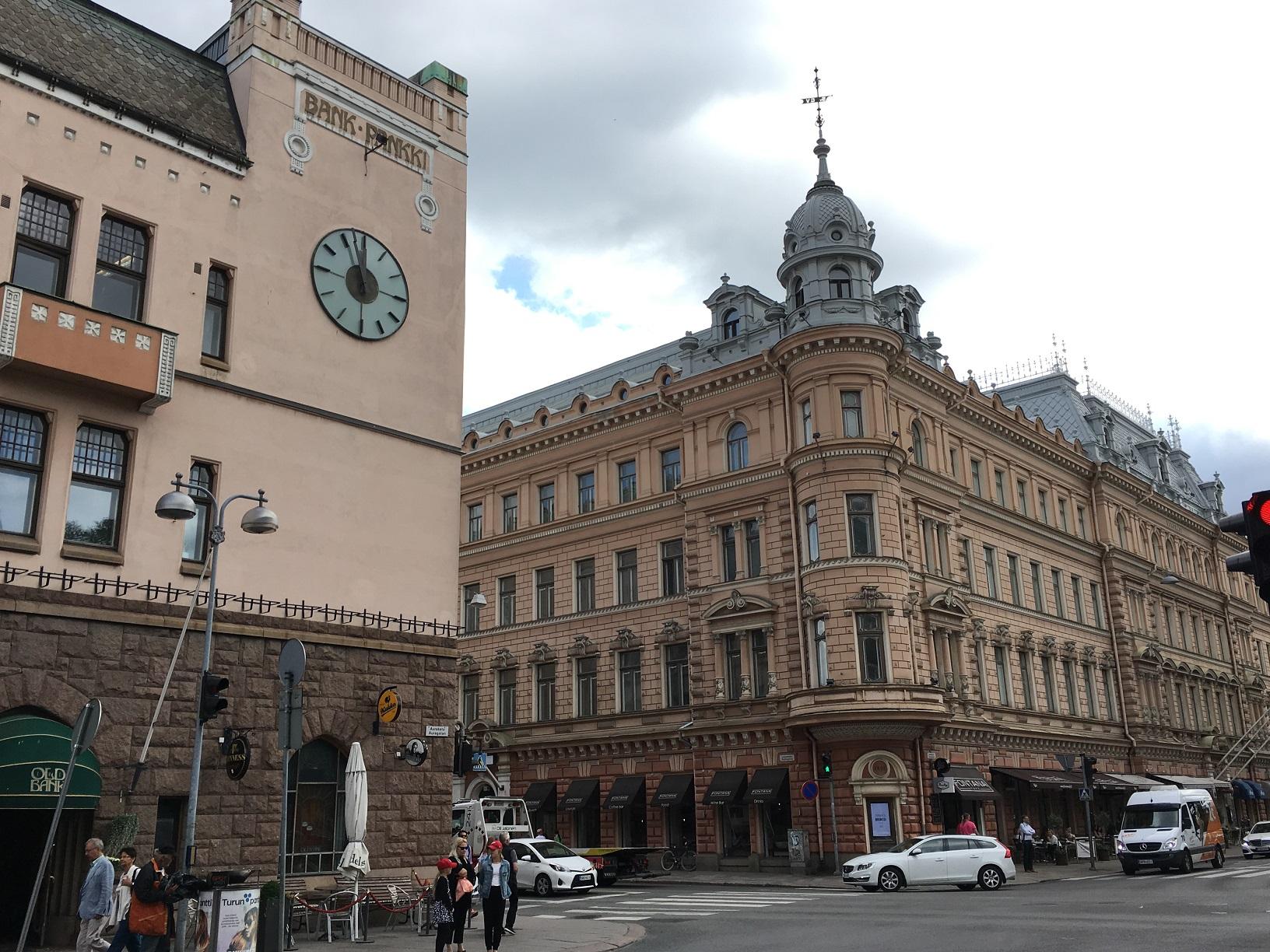 Die Innenstadt von Turku