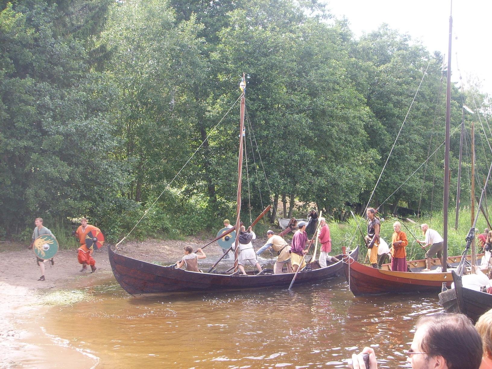 Vikingamarknad in Kvarnbo