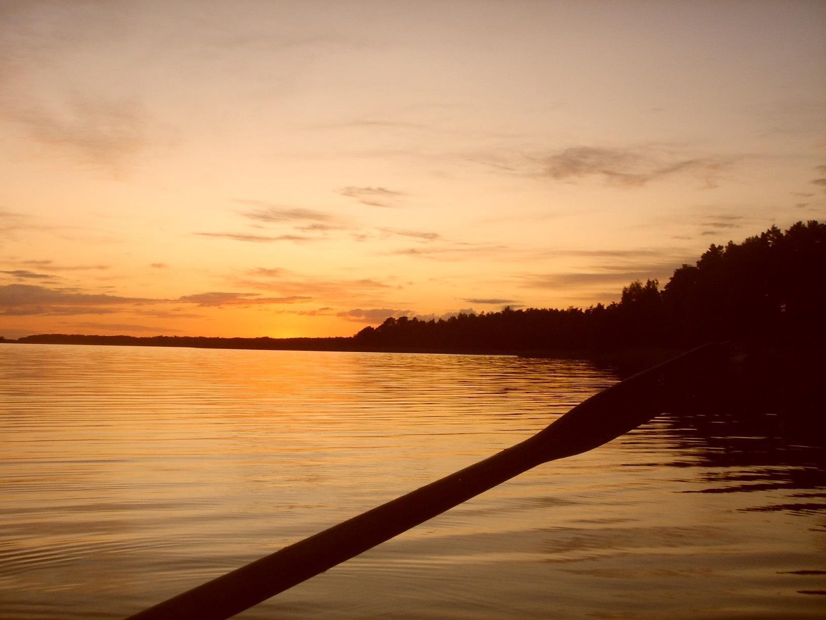 Sonnenuntergang auf Aland