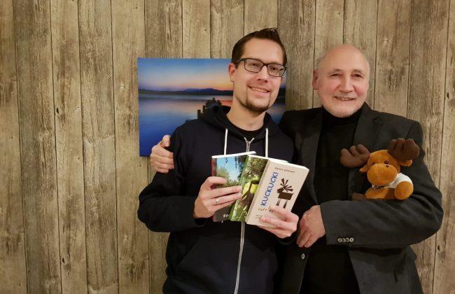 René (Finntouch) und Eberhard Apffelstaedt
