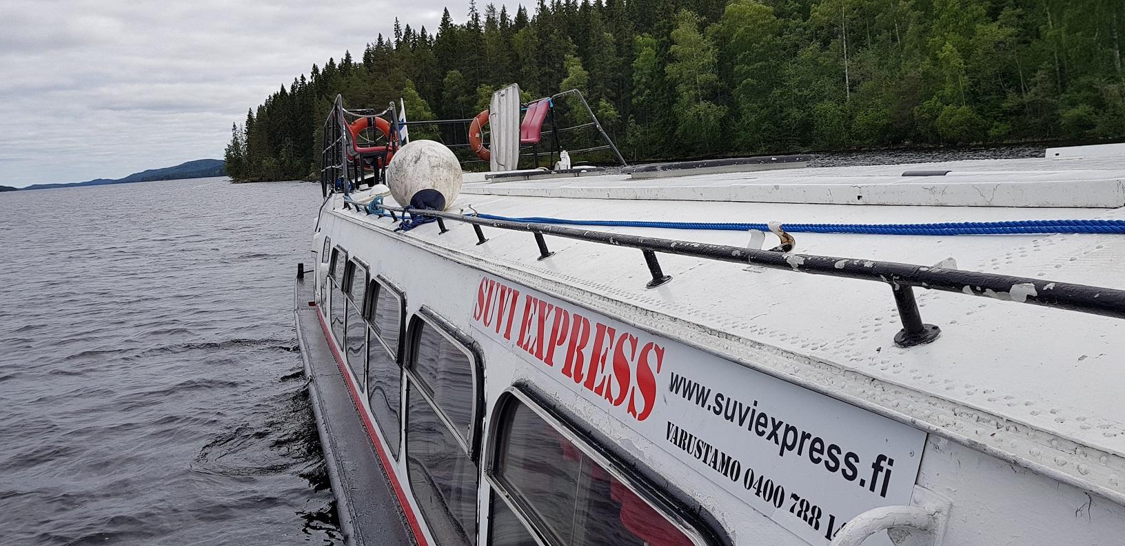 Suviexpress Tragflächenboot