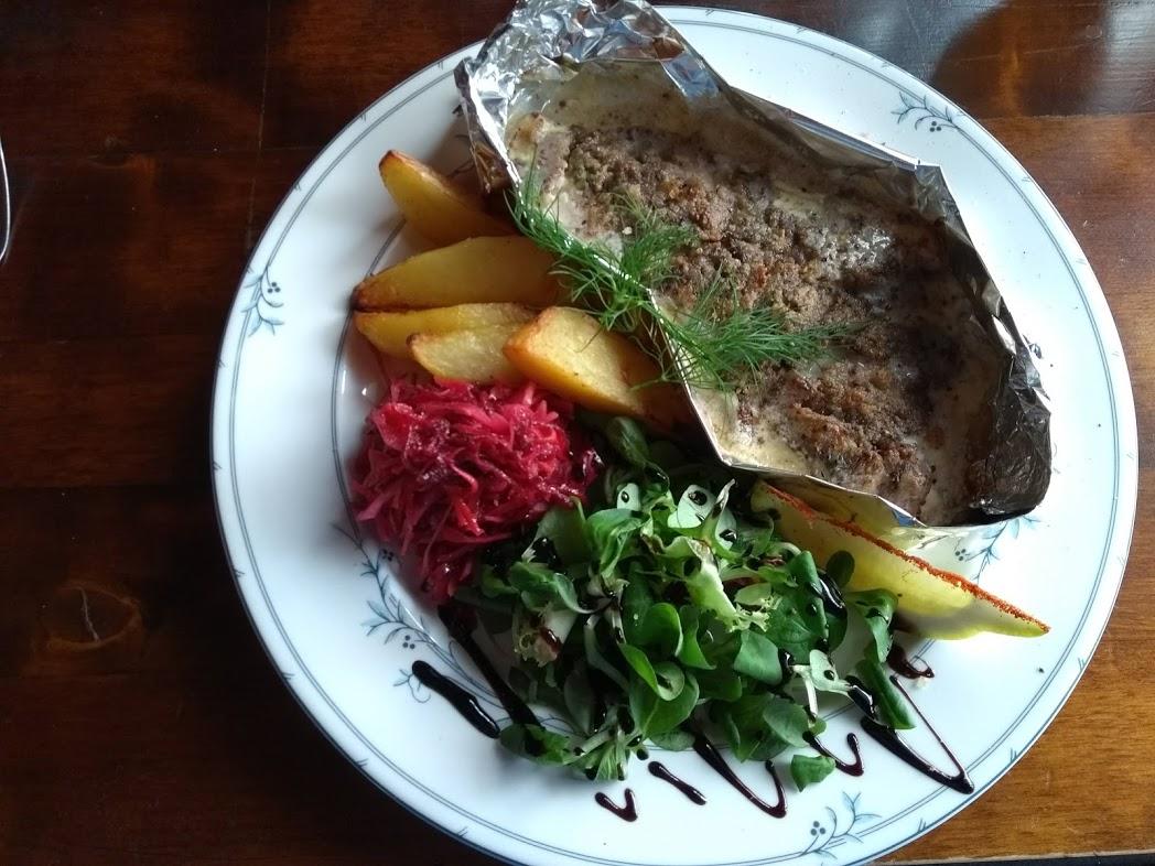 Essen im Restaurant Kolin Ryynänen