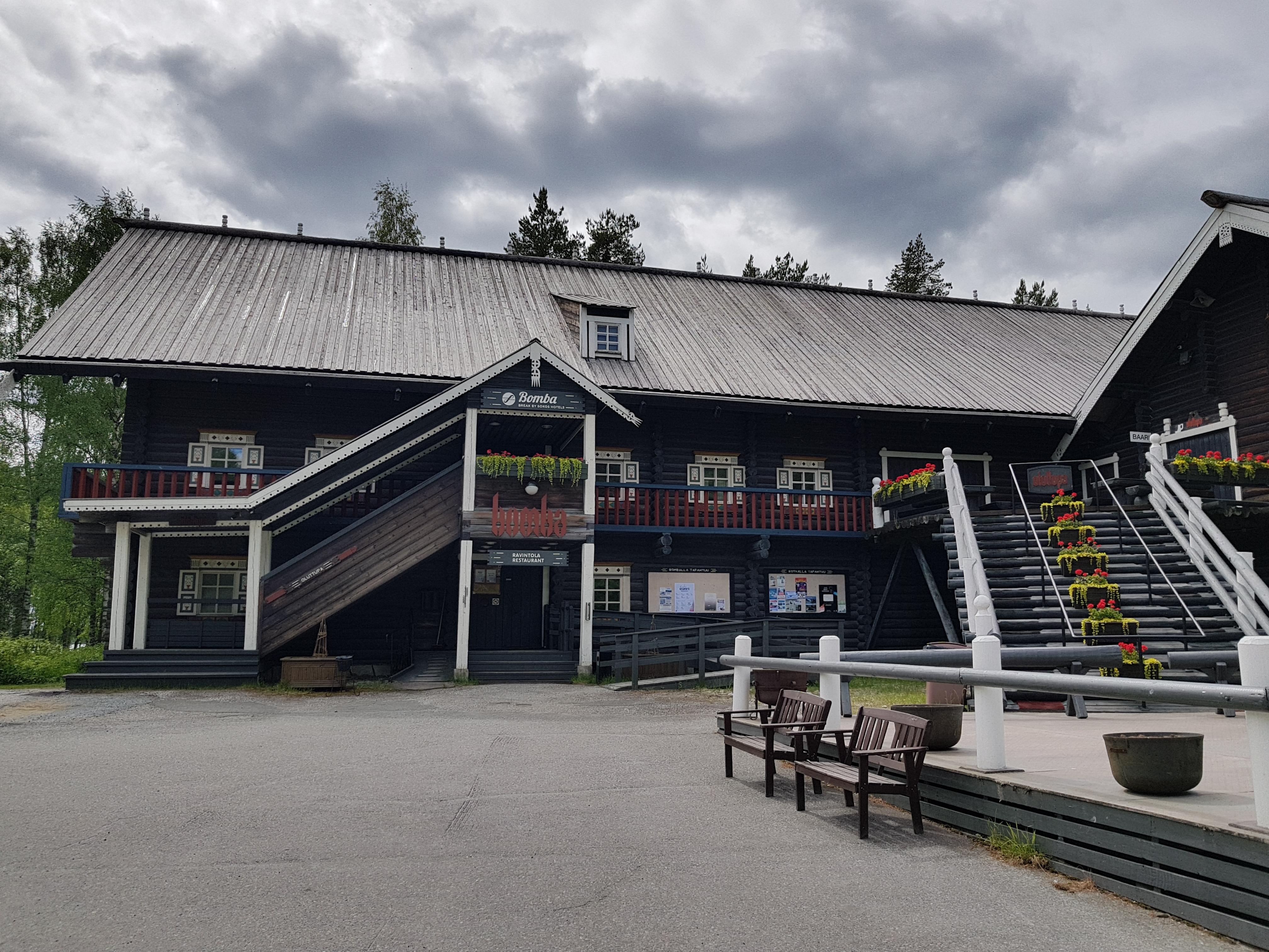 Bomba-Haus in Nurmes