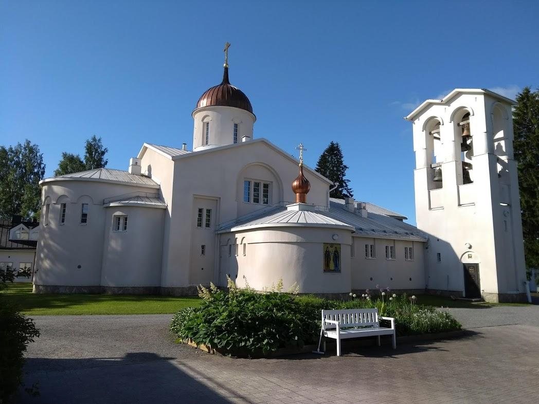 Das orthodoxe Männerkloster Uusi Valamo