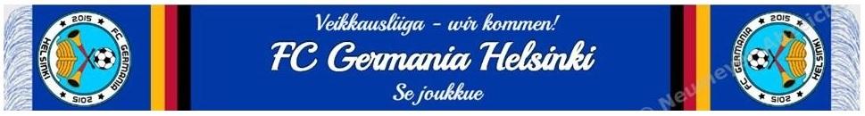 Fanschal des FC Germania Helsinki