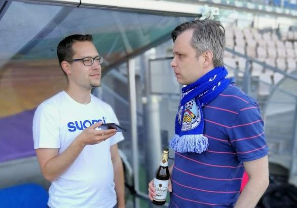 FinnTouch meets FC Germania Helsinki