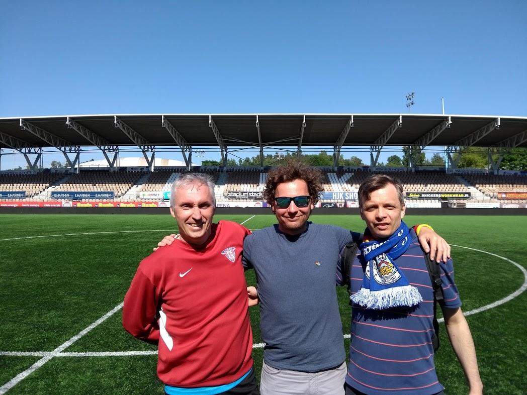 Vorstand des FC Germania Helsinki