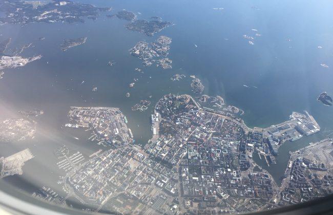 Ein Wochenende in Helsinki startet mit dem Anflug auf die finnische Hauptstadt