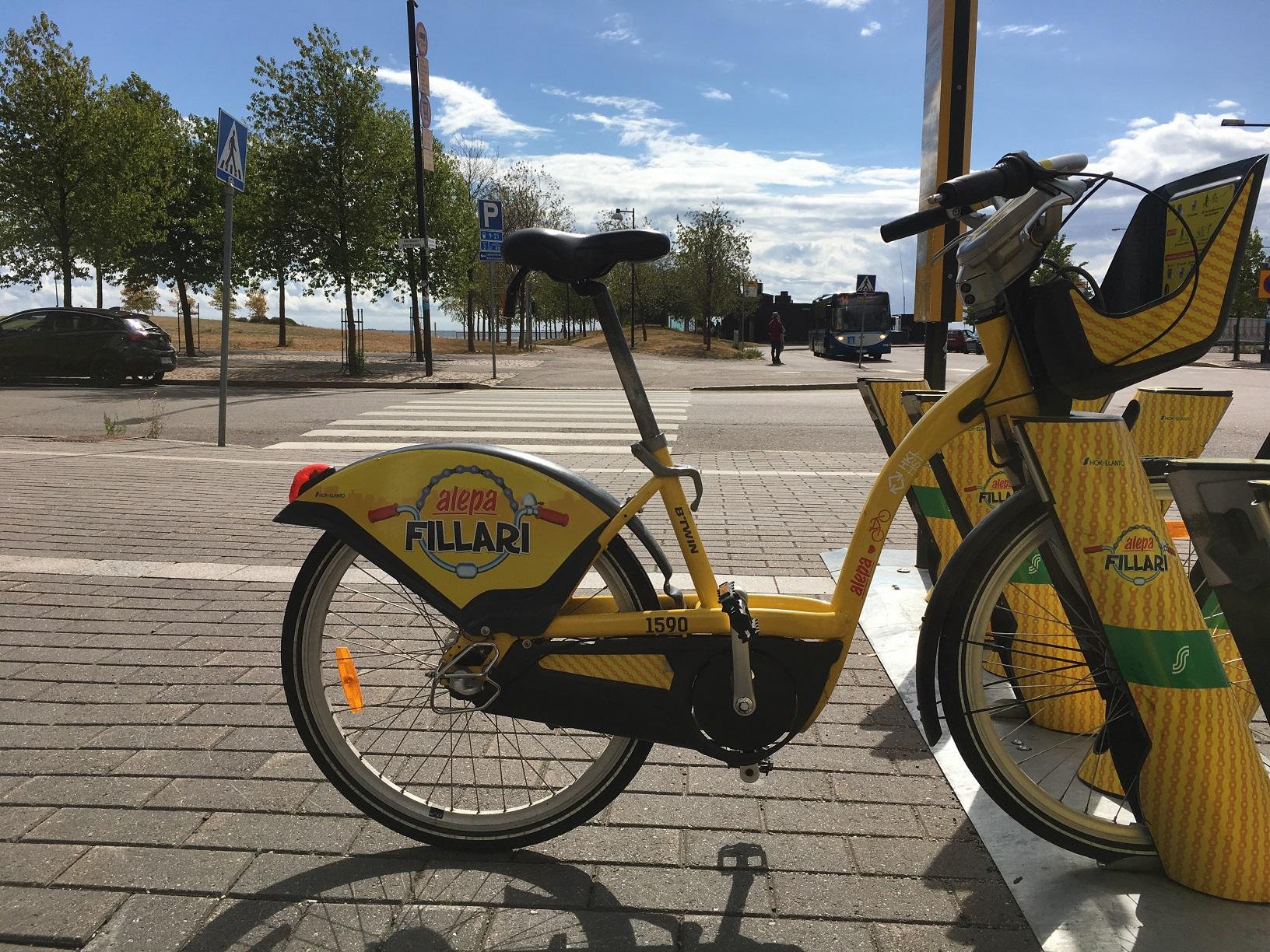 Fahrrad von City Bike Finland