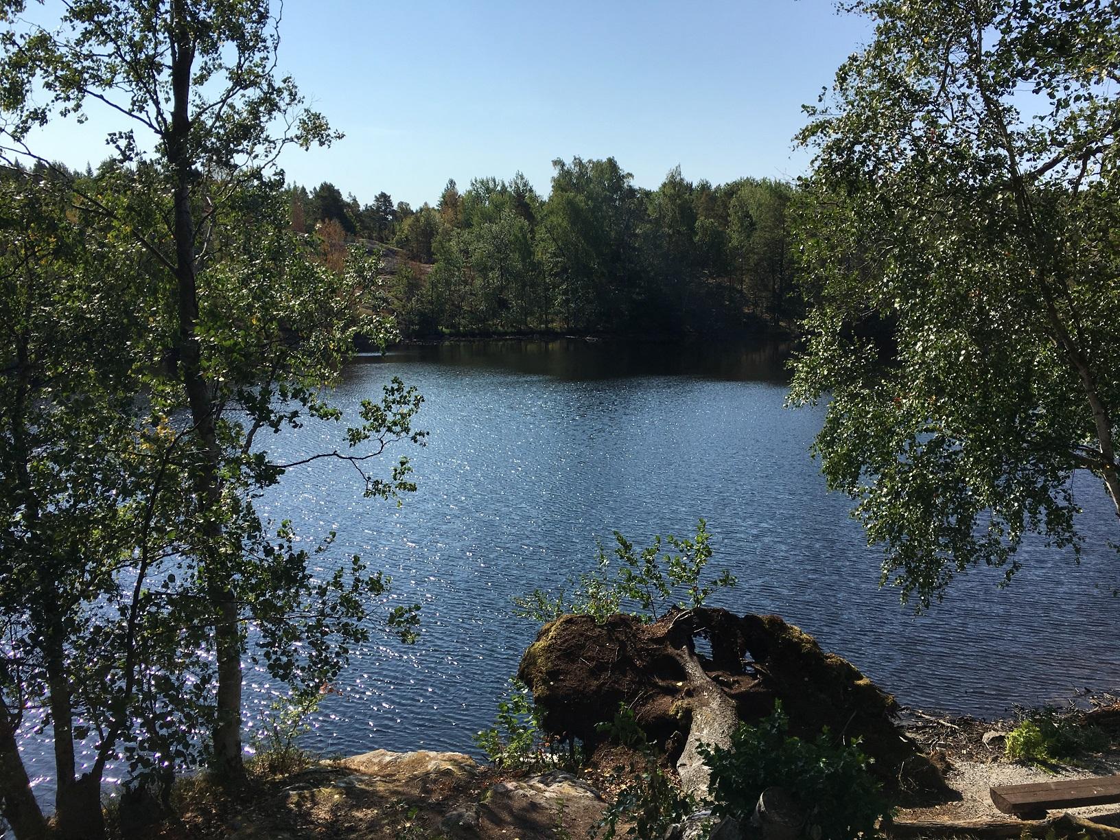 See auf der Insel Vallisaari, Helsinki
