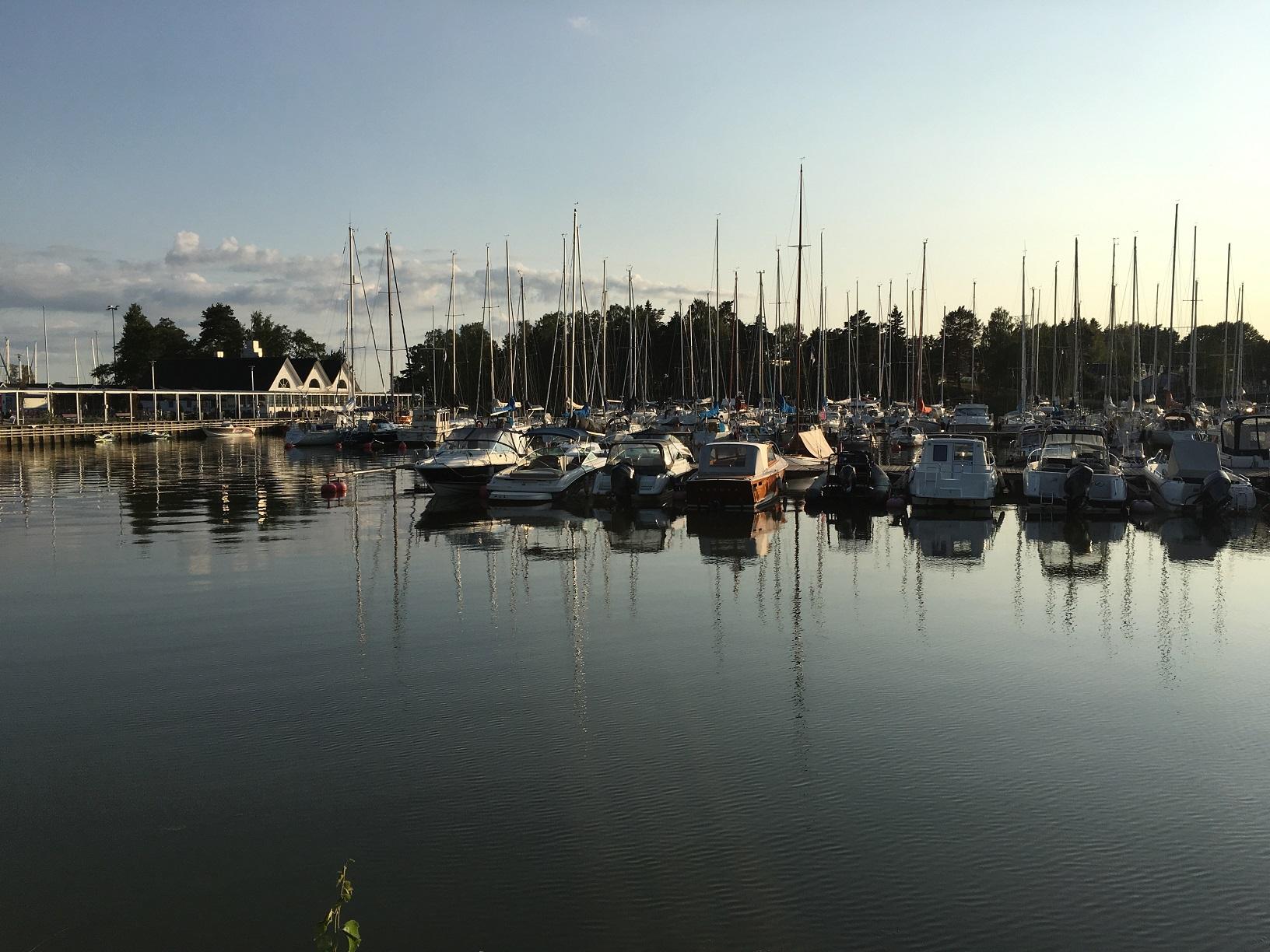 Yachthafen von Haukilahti, Espoo