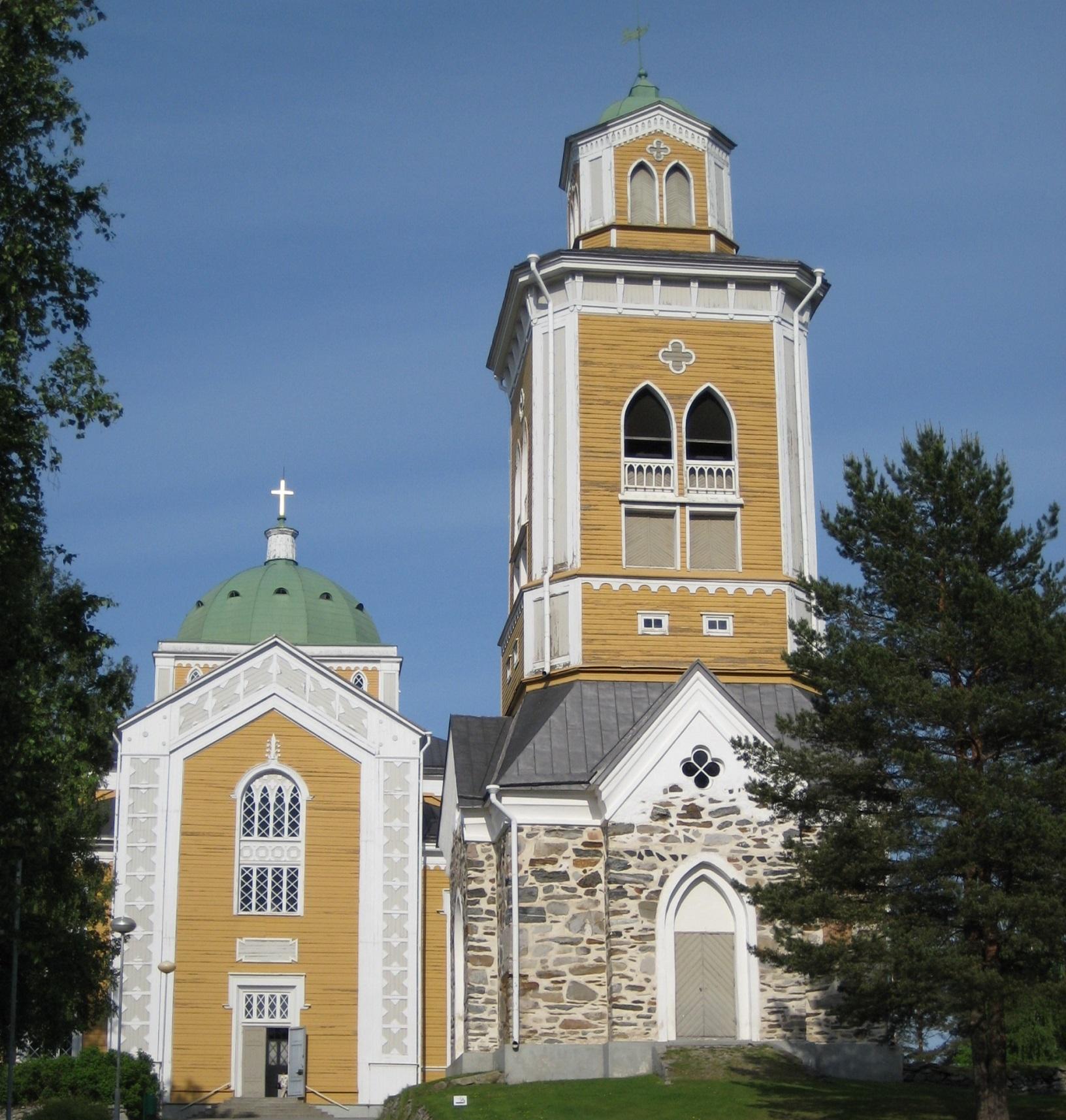 Die Kirche von Kerimäki