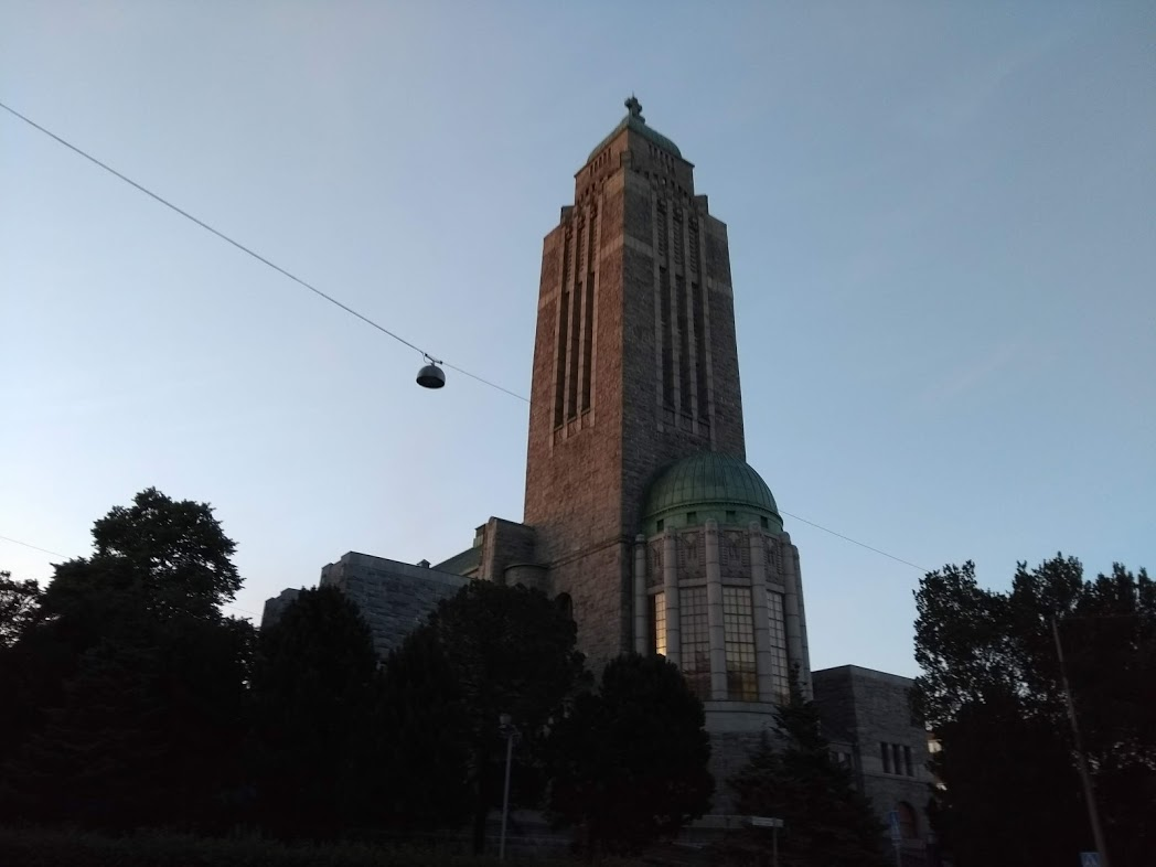 Die Kirche von Kallio in Helsinki