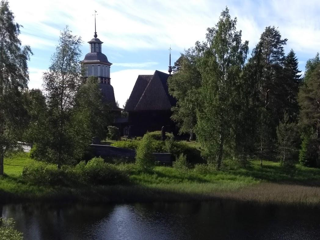 Die Alte Kirche von Petäjävesi