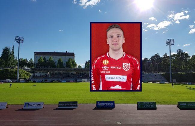 Calvin Damm spielt als deutscher Fußballprofi in Finnland