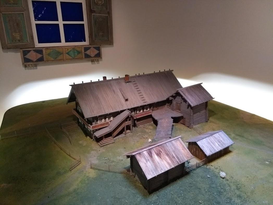 Alte Bauernhäuser im Pohjois-Karjalan Museo, Joensuu