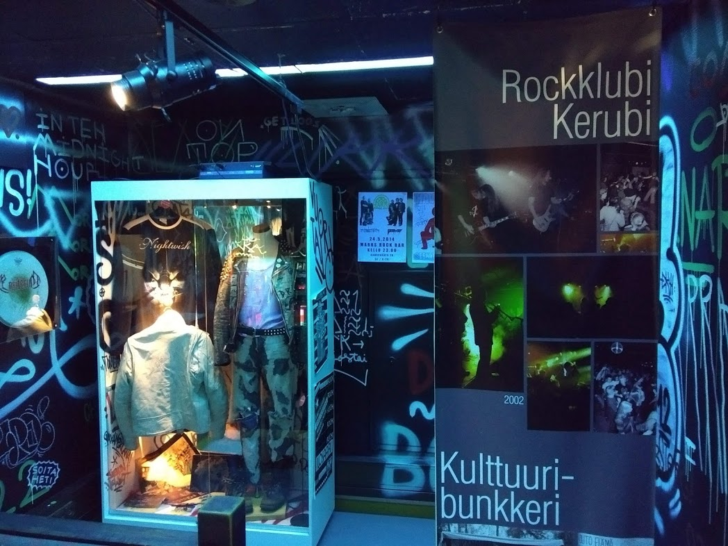 Metal-Ecke im Pohjois-Karjalan Museo, Joensuu