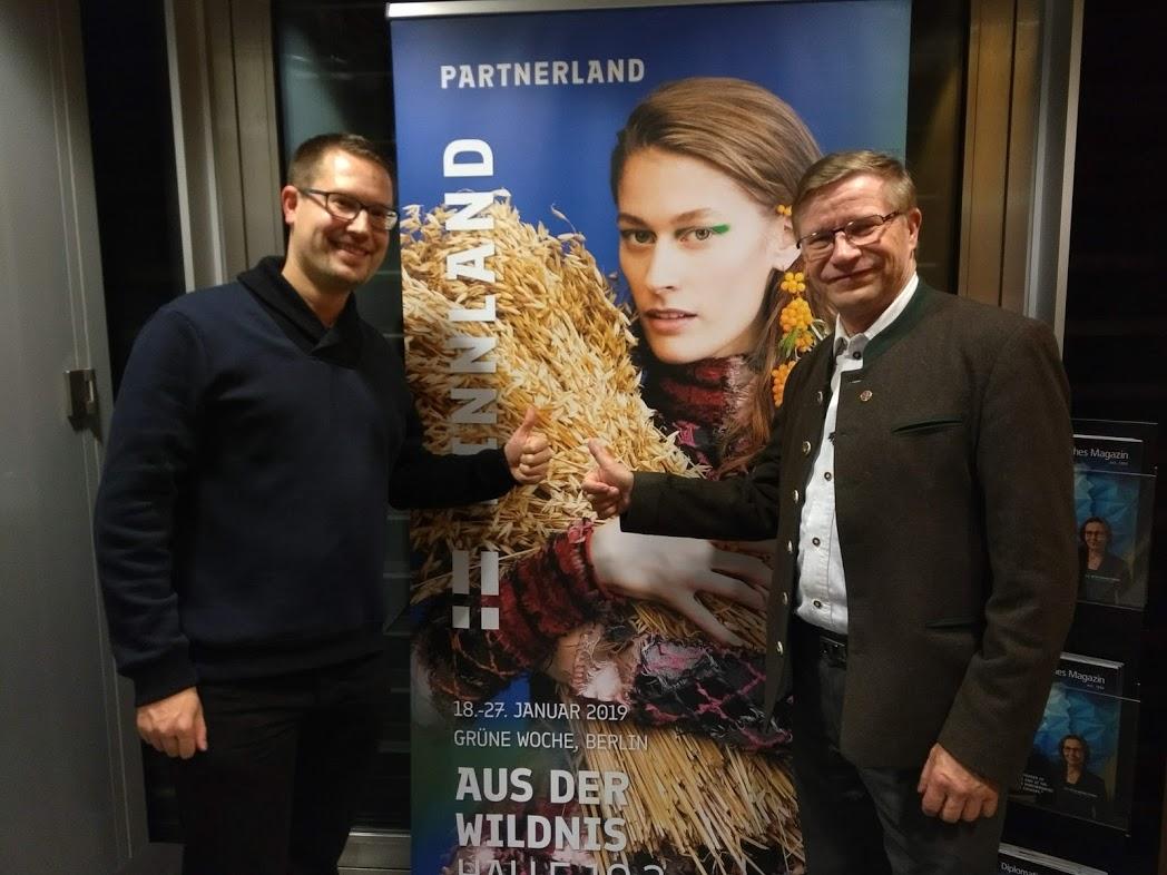René (FinnTouch) und Pekka Kääriäinen (Bryggeri Helsinki)