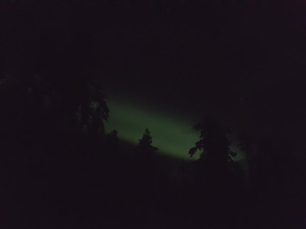Nordlichter in Finnisch-Lappland