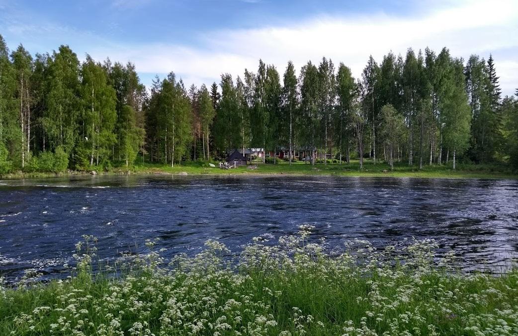 Fluss bei Möhkö