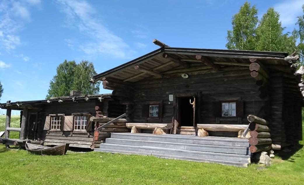 Hütte des Grenzgenerals in Ilomantsi