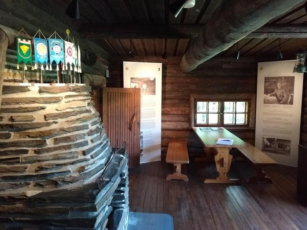 Hütte des Grenzgenerals Erkki Raapana