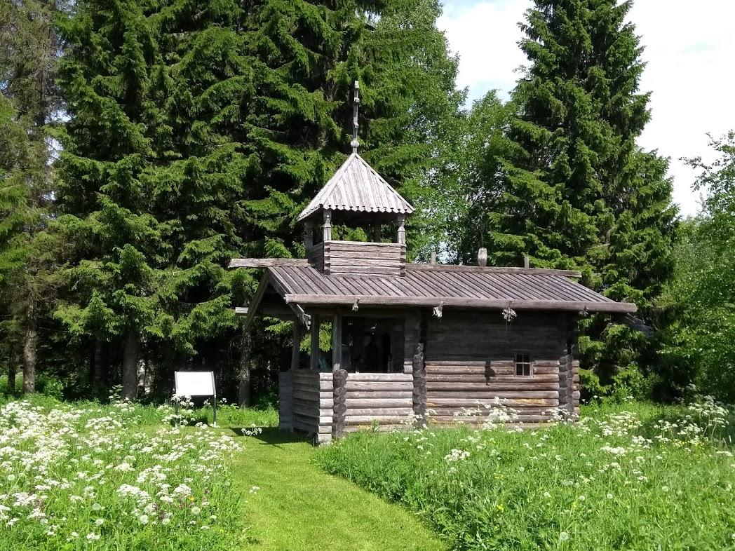 Kapelle am Runendorf Parppeinvaara