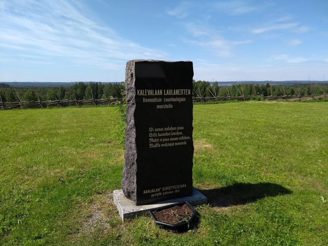Runensänger-Denkmal in Ilomantsi