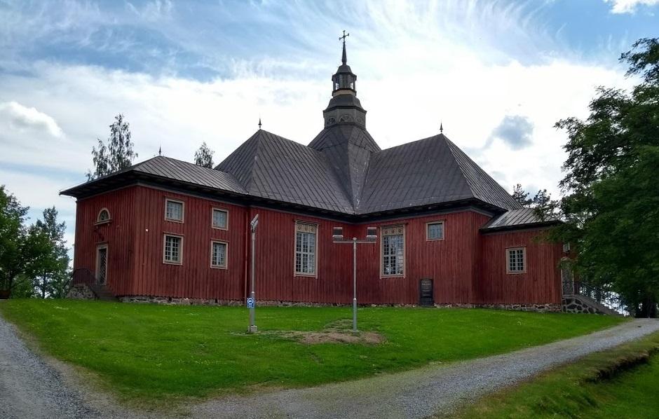 Die evangelisch-lutherische Holzkirche von Ilomantsi