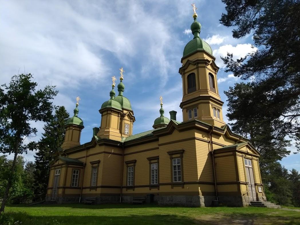 orthodoxe Kirche Ilomantsi, Finnland