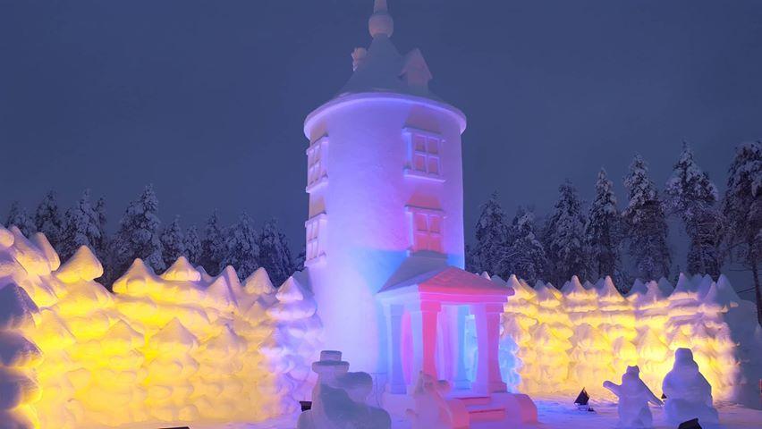 Muminturm im Moomin Snowcastle