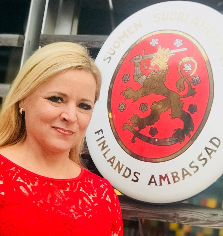 Finnische Botschaftsrätin für Presse und Kultur, Tanja Huutonen