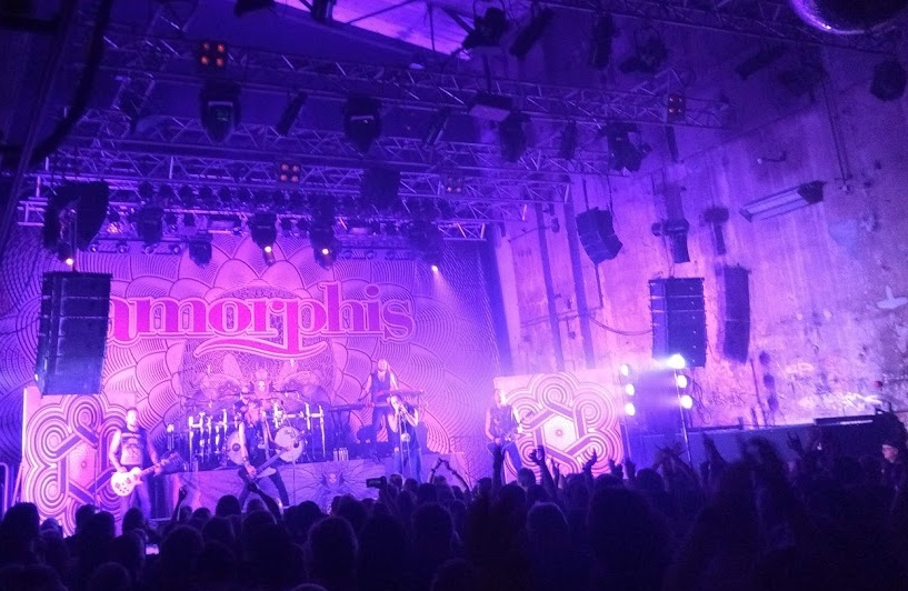 Amorphis live in Berlin